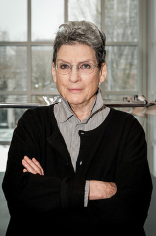 Phyllis Lambert, Founding Director Emeritus of the CCA. (CNW Group/Canadian Centre for Architecture)