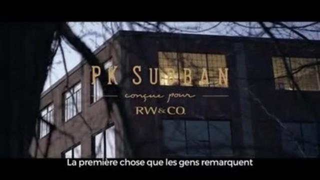 Vidéo : Derrière la scène avec PK Subban et la création de sa première collection de mode en collaboration avec RW&CO.