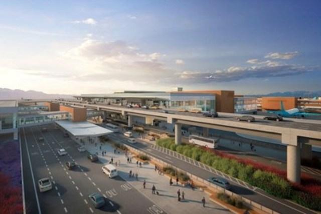 Nouvel aéroport international SLC - Salt Lake City, Utah, États-Unis (Source :www.slcairport.com) (Groupe CNW/Groupe ADF Inc.)
