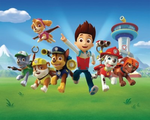 Characters from Spin Master's top preschool series, PAW Patrol. Fans will have the opportunity to meet their favorite characters and see a real life PAW Patroller at state and county fairs across the US this summer. (CNW Group/Spin Master Ltd.)
