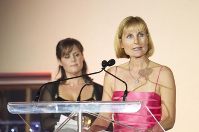 Madeleine Paquin, Honorary Chair of the Bal and President and CEO of Logistec Corporation. (CNW Group/FONDATION DU MAIRE : LE MONTRÉAL INC. DE DEMAIN)