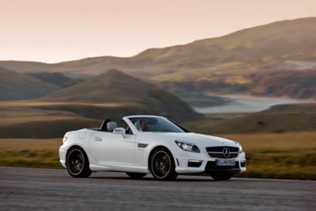2012 Mercedes-Benz SLK 55 AMG (Groupe CNW/Mercedes-Benz Canada Inc.)