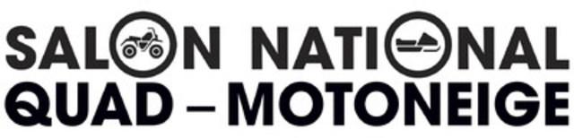 Logo : Salon National Quad-Motoneige (Groupe CNW/Fédération des clubs de motoneigistes du Québec)