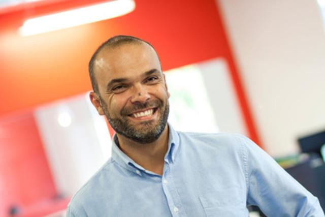 Sacha Declomesnil en charge de la direction du nouveau bureau d''O2 Web à Montréal  (Groupe CNW/O2 Web Montréal)