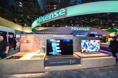 خط منتجات تلفزيون هايسنس 2018 تؤكد على الفخامة المعقولة السعر بنوعية صورة رائدة في الصناعة، وميزات ذكية معززة وتصميم خال من الحافة