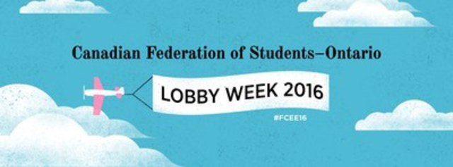 Canadian Federation of Students - Ontario (CNW Group/Canadian Federation of Students - Ontario)