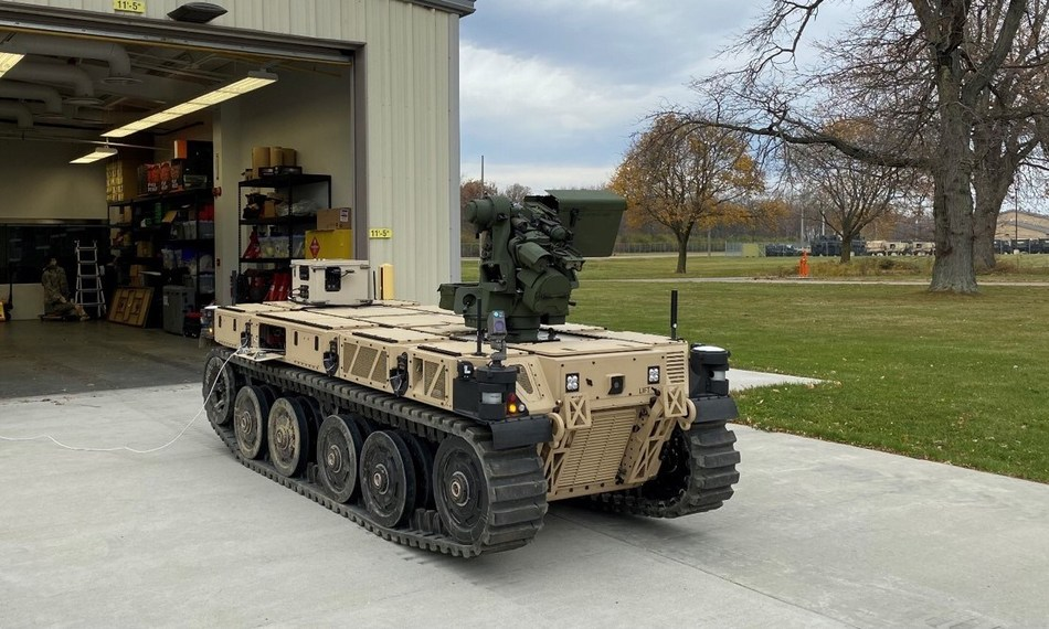 skynet is real army autonomous tank