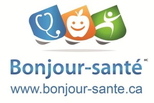 Logo : Bonjour-santé® (Groupe CNW/Tootelo Innovation Inc.)