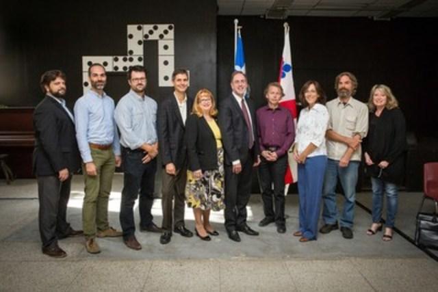 Le comité organisateur des assises sur la gentrification dans le quartier Hochelaga-Maisonneuve. (Groupe CNW/Ville de Montréal - Arrondissement Mercier - Hochelaga-Maisonneuve)