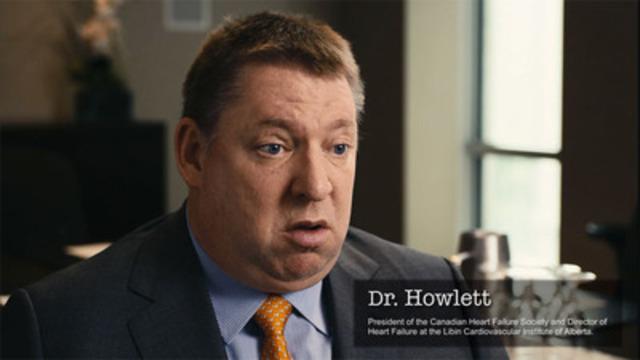 Video: Dr. Jonathan Howlett discusses heart failure