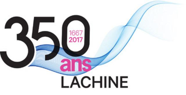 Logo : 350e anniversaire de Lachine 2017 (Groupe CNW/Ville de Montréal - Arrondissement de Lachine)