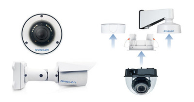 Figure 1. The H4 SL camera line (CNW Group/Avigilon Corporation)