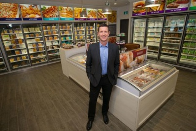 M&M Food Market CEO Andy O'Brien. The newly redesigned stores are organized by category to help simplify the shopping experience and have a redefined in-store experience featuring expert meal advisors, a more consumer-centric category assortment and a new overall store concept that is rolling out across the country. (CNW Group/M&M Food Market)