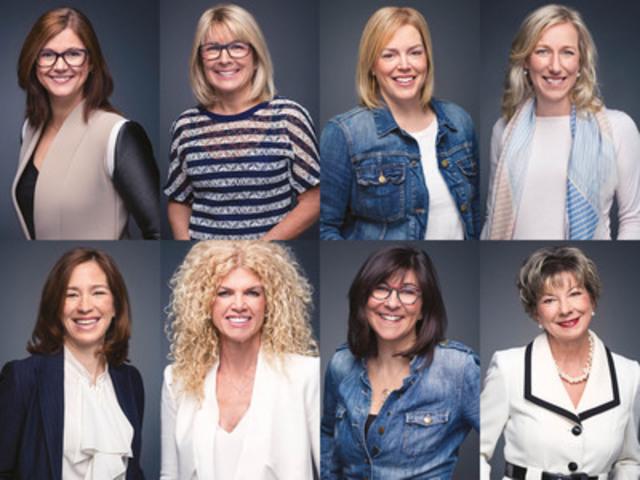 Les 8 femmes « Incontournables » de la Communication et du Marketing 2014 honorées par Premières en affaires, le magazine des affaires au féminin (Groupe CNW/Premières en affaires Inc.)