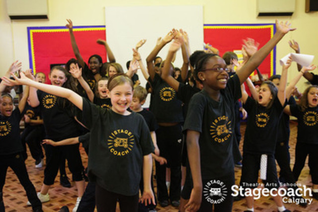 StageCoach Theatre Arts offers quality training in drama, dance and singing to young performers on weekends, and is designed to build confidence and develop communication and creativity through performing skills. (CNW Group/StageCoach Theatre Arts Calgary)