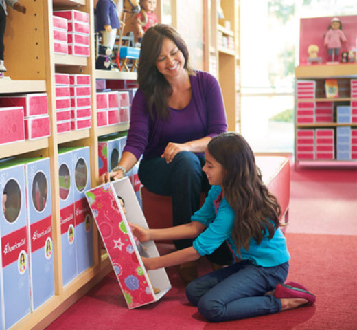 Amercian Girl Retail Environment (CNW Group/Indigo Books & Music Inc.)