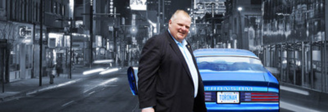 Toronah - a dysfunctional mockumentary, filmed in Chicago and Toronto, features a cameo appearance of Rob Ford. (CNW Group/Passionplay Media)