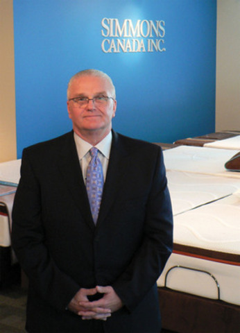 Simmons Bedding Company is happy to welcome Mr. John Stasiw (pictured above) as president of Simmons Canada Inc. (Groupe CNW/Simmons Bedding Company)