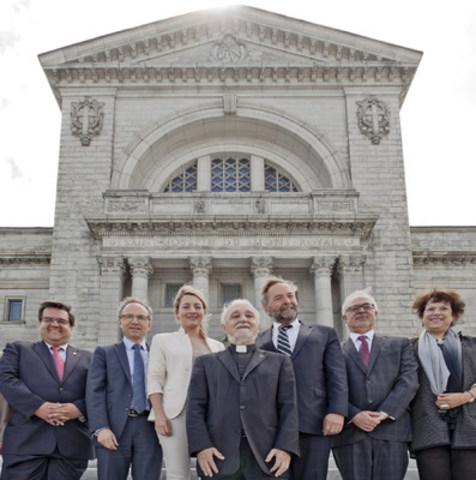 Un nouveau départ pour le grand projet d'aménagement de l'Oratoire Saint-Joseph du Mont-Royal (Groupe CNW/Oratoire Saint-Joseph du Mont-Royal)