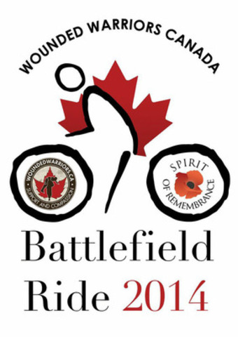 Battlefield Ride 2014 logo (CNW Group/Wounded Warriors Canada)
