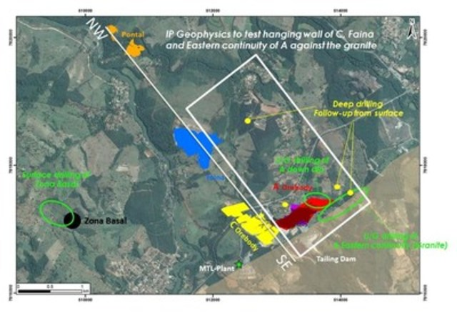 Figure 1 – Location Plan, Turmalina Gold Mine (CNW Group/Jaguar Mining Inc.)