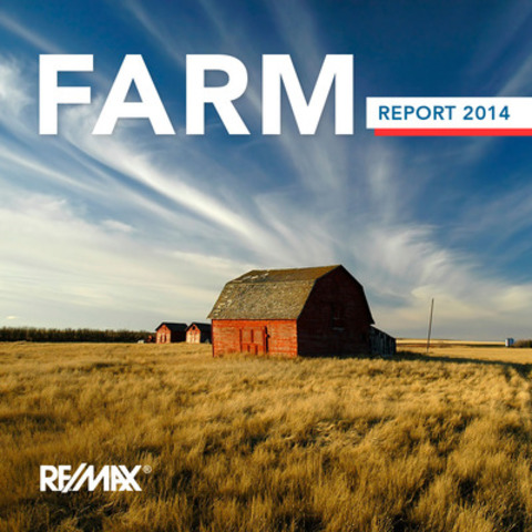 RE/MAX Farm Report 2014 highlights market trends in 20 rural communities across Canada. (CNW Group/RE/MAX Ontario-Atlantic Canada)