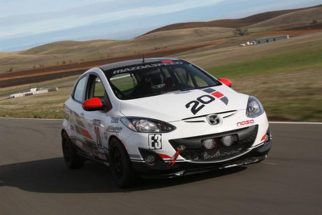 Mazda B-Spec race car prototype. (CNW Group/Mazda Canada Inc.)