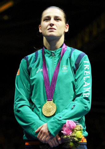 Katie Taylor, an Olympic champion boxer for Ireland, will celebrate St. Patrick's Day in Toronto this year as the Grand Marshal for the 2014 Toronto St. Patrick's Day Parade. (CNW Group/St. Patrick's Parade Society)