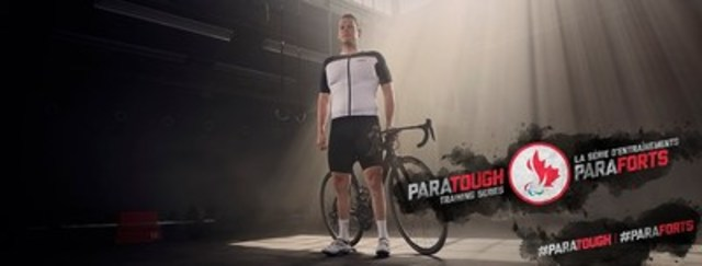 Para-cyclist Ross Wilson is featured in the ParaTough Training Series, the first workout series led entirely by Canadian Paralympians. Photo Credit: CPC/Tyler Gray/John Stevancec/Westside Studio (CNW Group/Canadian Paralympic Committee (CPC))