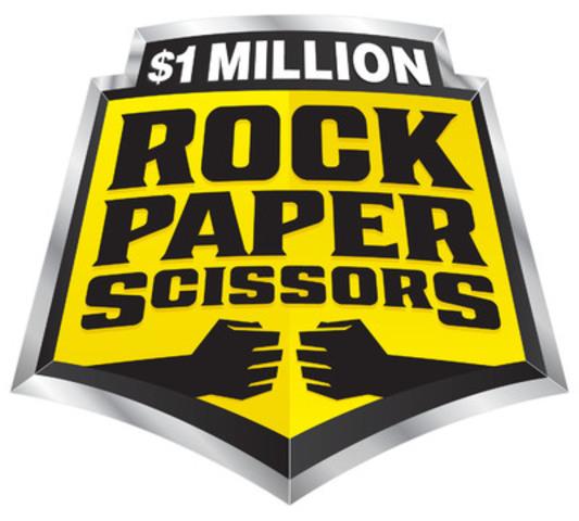 ROCK-PAPER-SCISSORS (R-P-S) Logo (Groupe CNW/OLG)