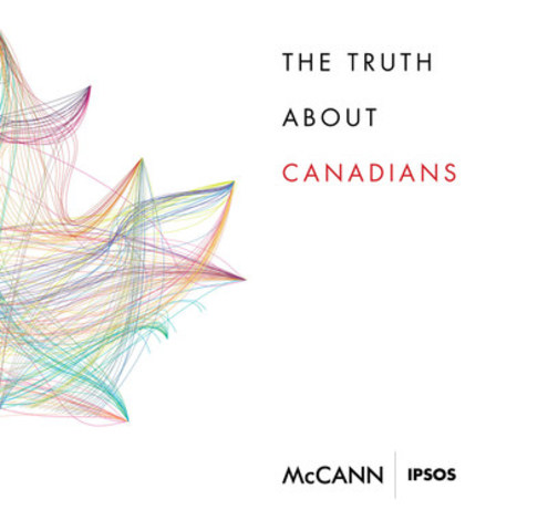 Truth About Canadians Study – Image of Cover Page of Report (CNW Group/McCann Canada)