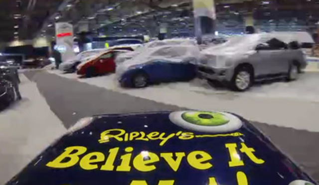 The Ripley's Believe It or Not! Peel P50 Microcar Arrives at the Canadian International Auto Show