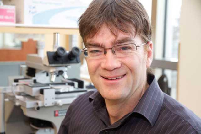 Dr. Troy Harkness has received a Canadian Cancer Society Innovation Grant to investigate a new strategy to overcome treatment resistance in cancers. (CNW Group/Canadian Cancer Society (National Office))