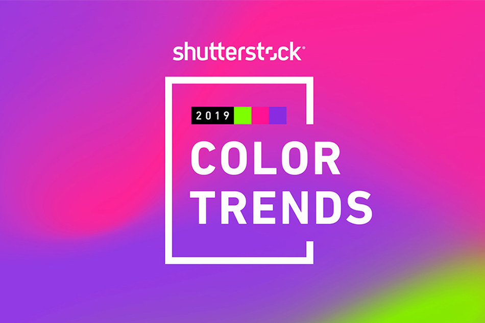 Shutterstock's 2019 Color Trends Identifies Fastest Growing Colors in Popularity Around the World