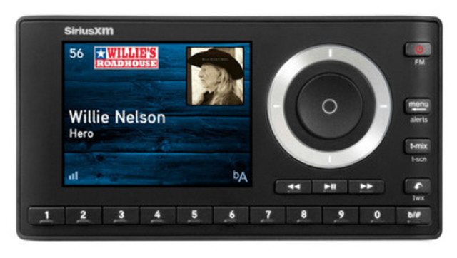 SiriusXM Canada's latest satellite radio, the Onyx Plus, combines SiriusXM's most advanced technology with exciting features to create the ultimate listening experience in or out of your vehicle. (CNW Group/Sirius XM Canada Holdings Inc.)