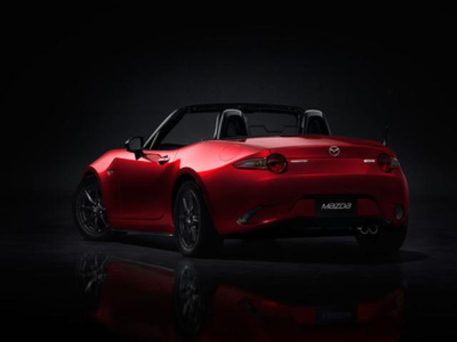La toute nouvelle Mazda MX-5 2016 (arrière) (Groupe CNW/Mazda Canada Inc.)