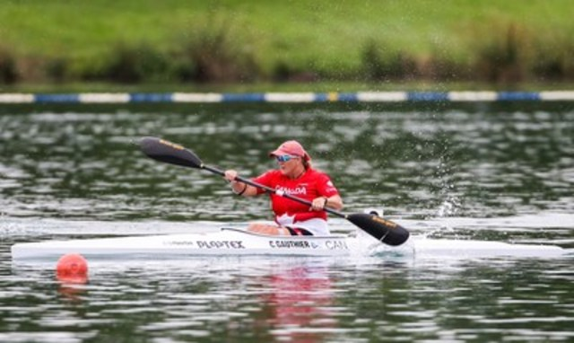 Christine Gauthier of Dorval, Que. will be nominated for selection to Team Canada as the sport of paracanoe makes its debut at the Rio 2016 Paralympic Games. (CNW Group/Canadian Paralympic Committee (CPC))