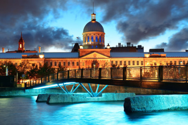 Montreal - A captivating blend of tradition and modernity (CNW Group/Hotels.com)