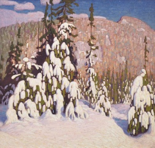 Heffel's fall live auction includes three masterpieces by Group of Seven painter, Lawren Harris, currently in the global art spotlight. Harris's stunning Winter Landscape leads the sale by estimate (est. $1,200,000 - 1,600,000).  (CNW Group/Heffel Fine Art Auction House)