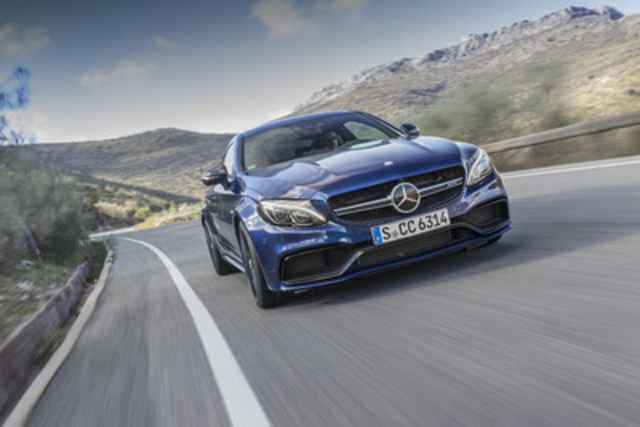 Mercedes-AMG is setting another milestone in the brand's history: the new C 63 Coupe is the next step on the way to more technical and visual distinctiveness. (CNW Group/Mercedes-Benz Canada Inc.)