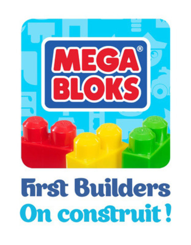 Mega Bloks First Builders -On Construit! icône app. (Groupe CNW/MEGA BRANDS INC.)