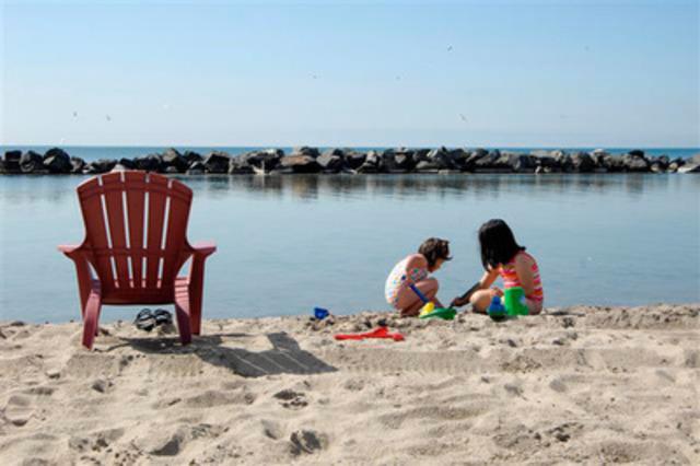 Chelsea Beach on Toronto Island Park (CNW Group/Delta Chelsea Hotel)