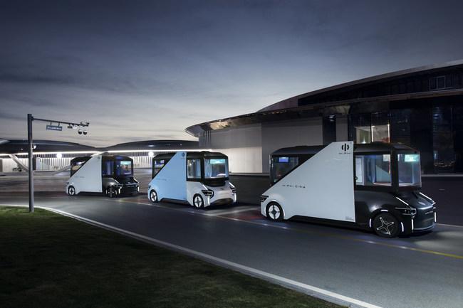 HiPhi 1 Autonome Shuttles