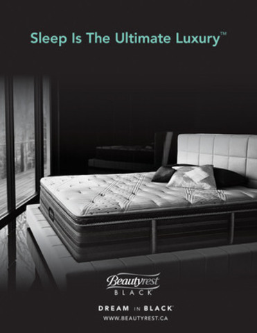 Sleep is the Ultimate Luxury (CNW  Group/Simmons Canada)