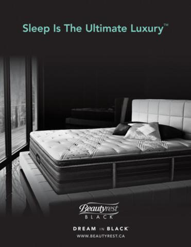 Sleep is the Ultimate Luxury (CNW  Group/Simmons Canada)