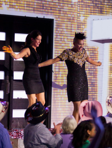 Jillian MacLaughlin named winner of Big Brother Canada. Gary Levy takes second place. (CNW Group/Shaw Media)