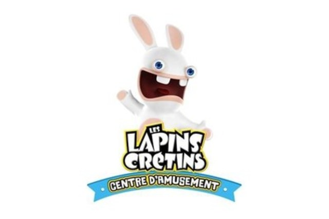 Le Centre d'amusement Les Lapins Crétins (Groupe CNW/Ubisoft)