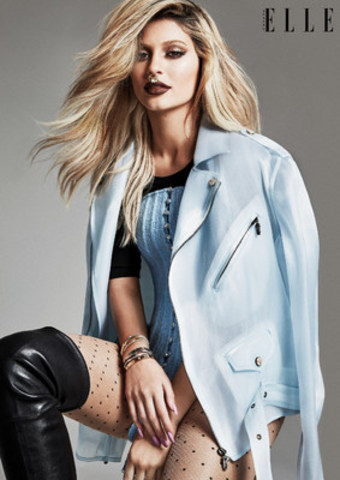 Kylie Jenner 'nose' how to get wild on her ELLE Canada photo shoot (CNW Group/ELLE Canada)