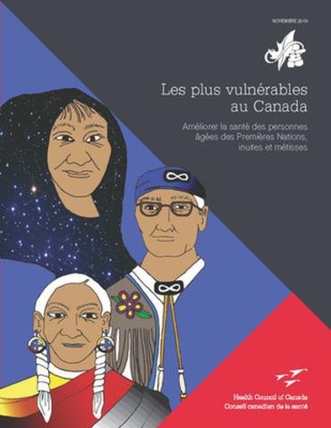 Un nouveau rapport du Conseil canadien de la santé déclare que les gouvernements doivent faire de plus grands efforts pour travailler en collaboration afin d'améliorer les soins de santé pour les personnes âgées des Premières Nations, inuites et métisses. (Groupe CNW/Conseil Canadien de la Santé)