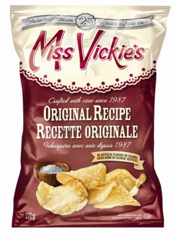 Miss Vickie's Original Recipe (CNW Group/PEPSICO CANADA)